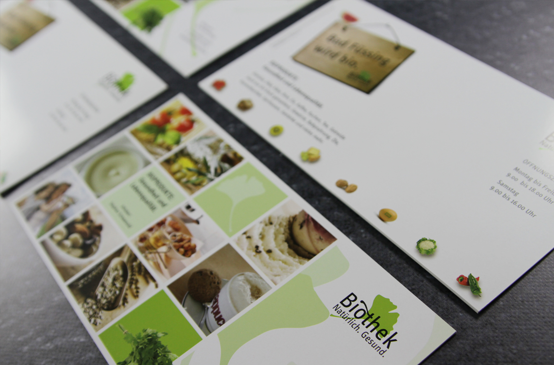Biothek Image-Maxipostkarte