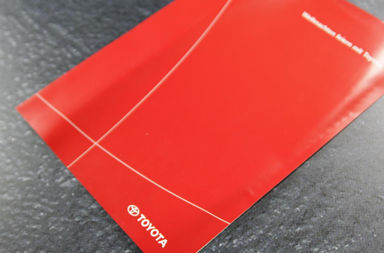 Toyota Weihnachtskarten