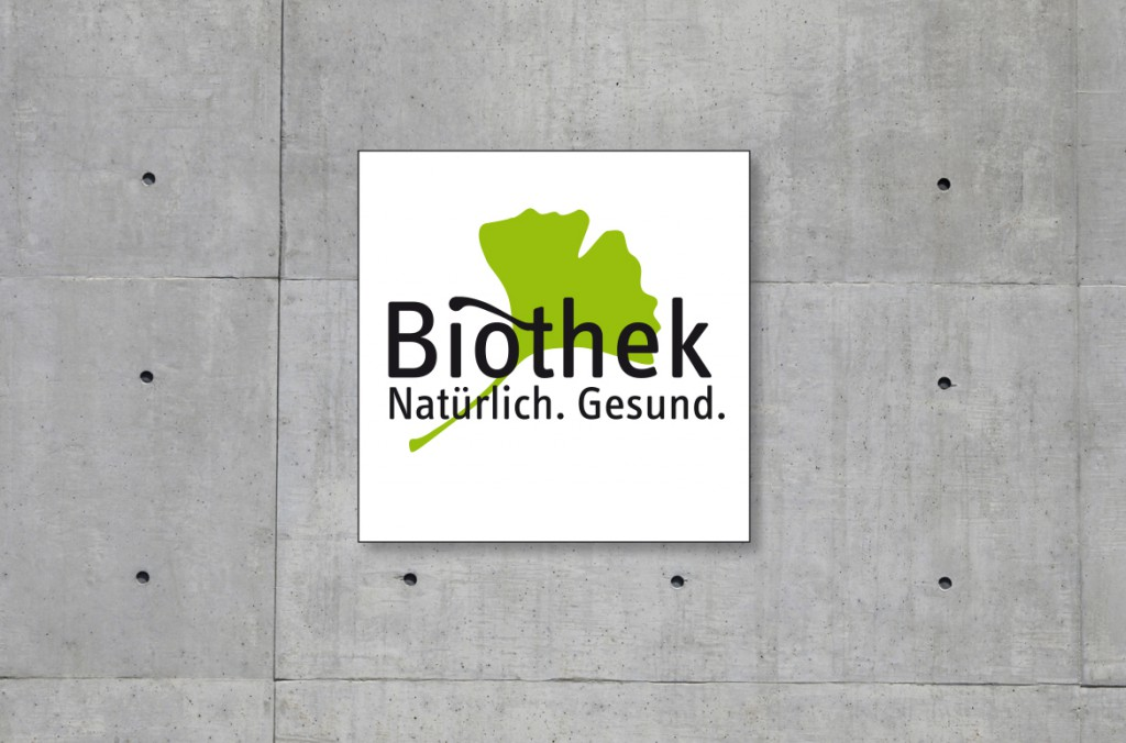 Logoentwicklung für Biothek