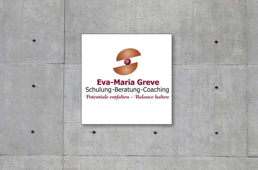 Logoentwicklung für Eva-Maria Greve