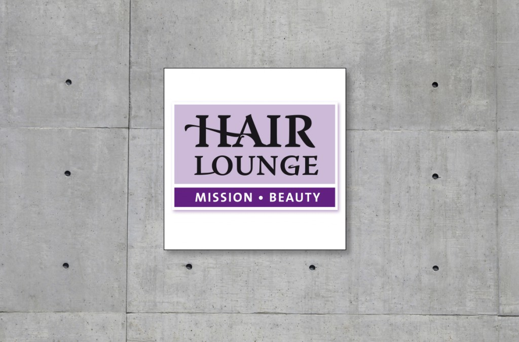 Logoentwicklung HairLounge