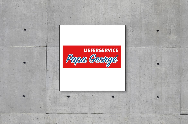 Logoentwicklung Papa George