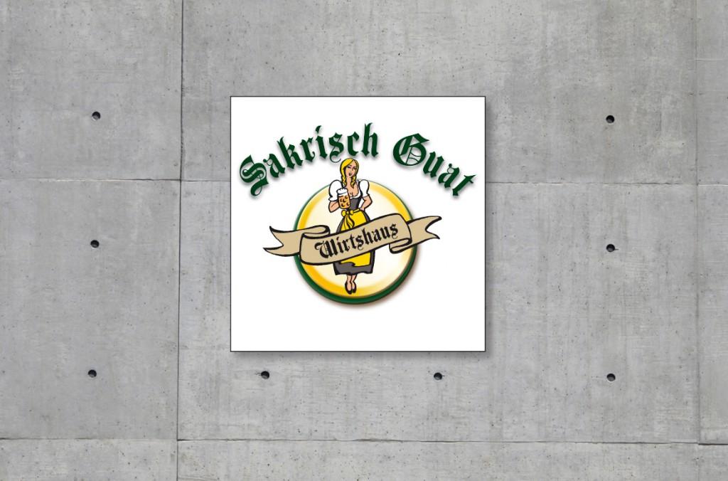 Logoentwicklung Sakrisch Guat