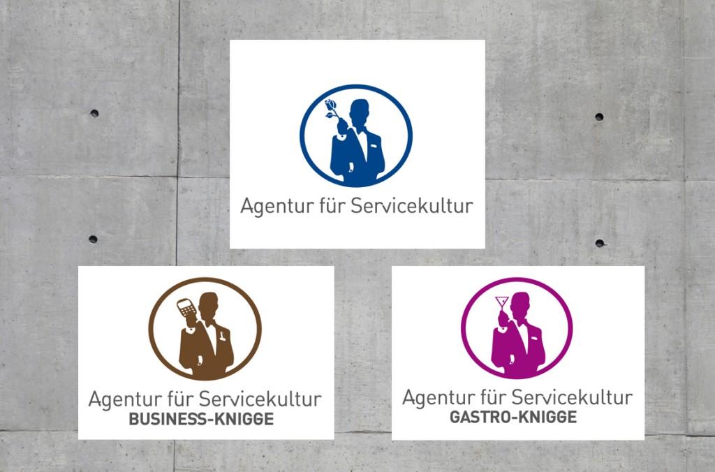 Logoentwicklung für Die Agentur für Servicekulter