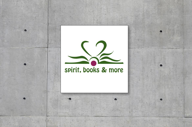 Logoentwicklung für den Verlag spirit, books & more