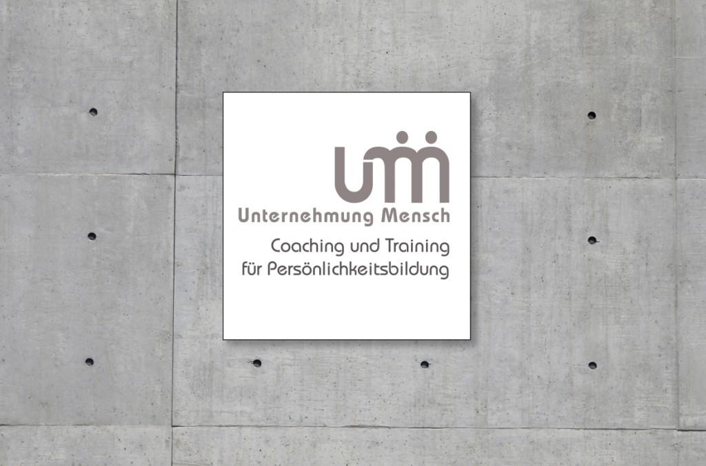 Logoentwicklung für Unternehmung Mensch