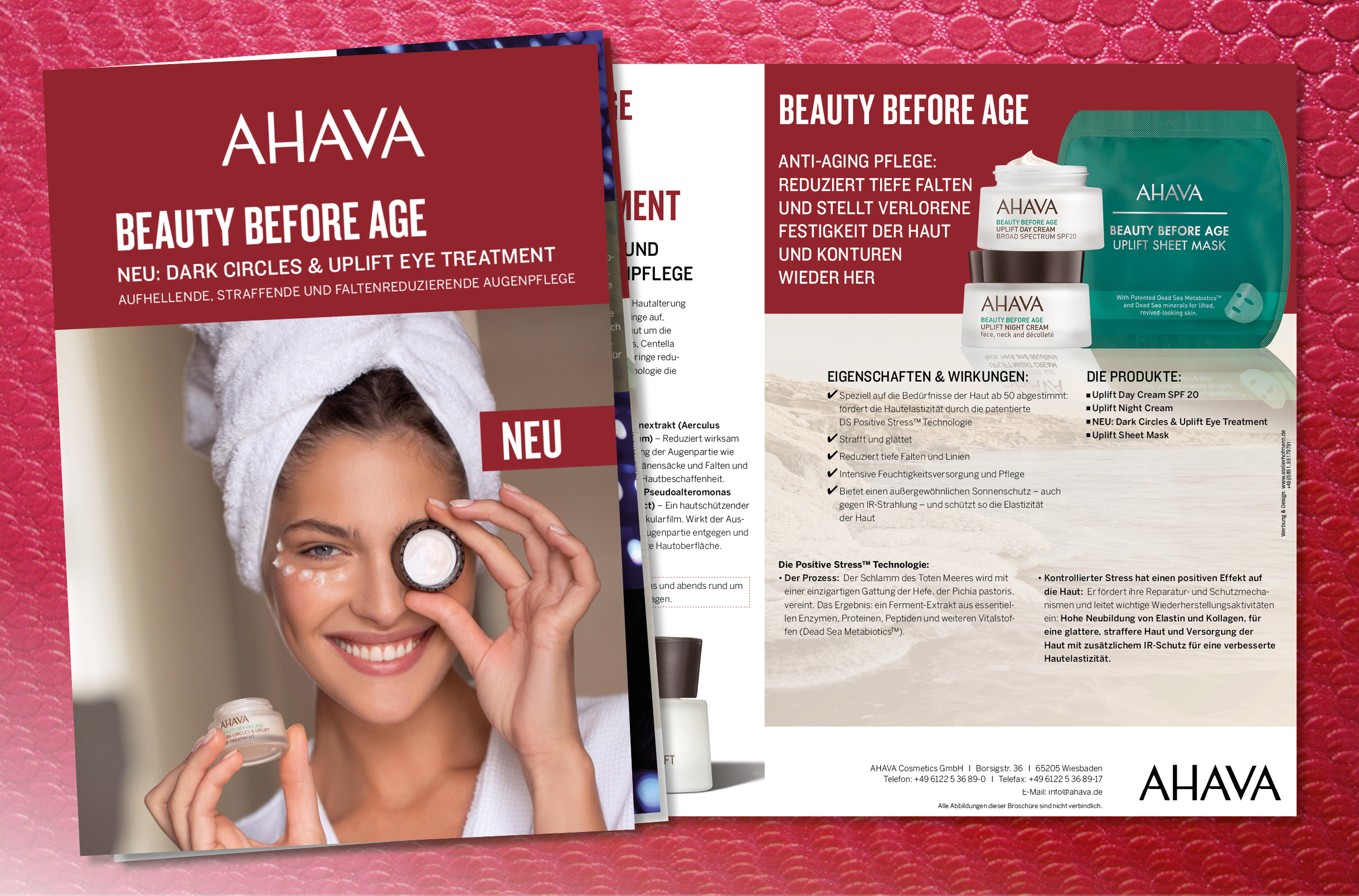 """Beauty before age"": AHAVA – Liebe zur Haut"