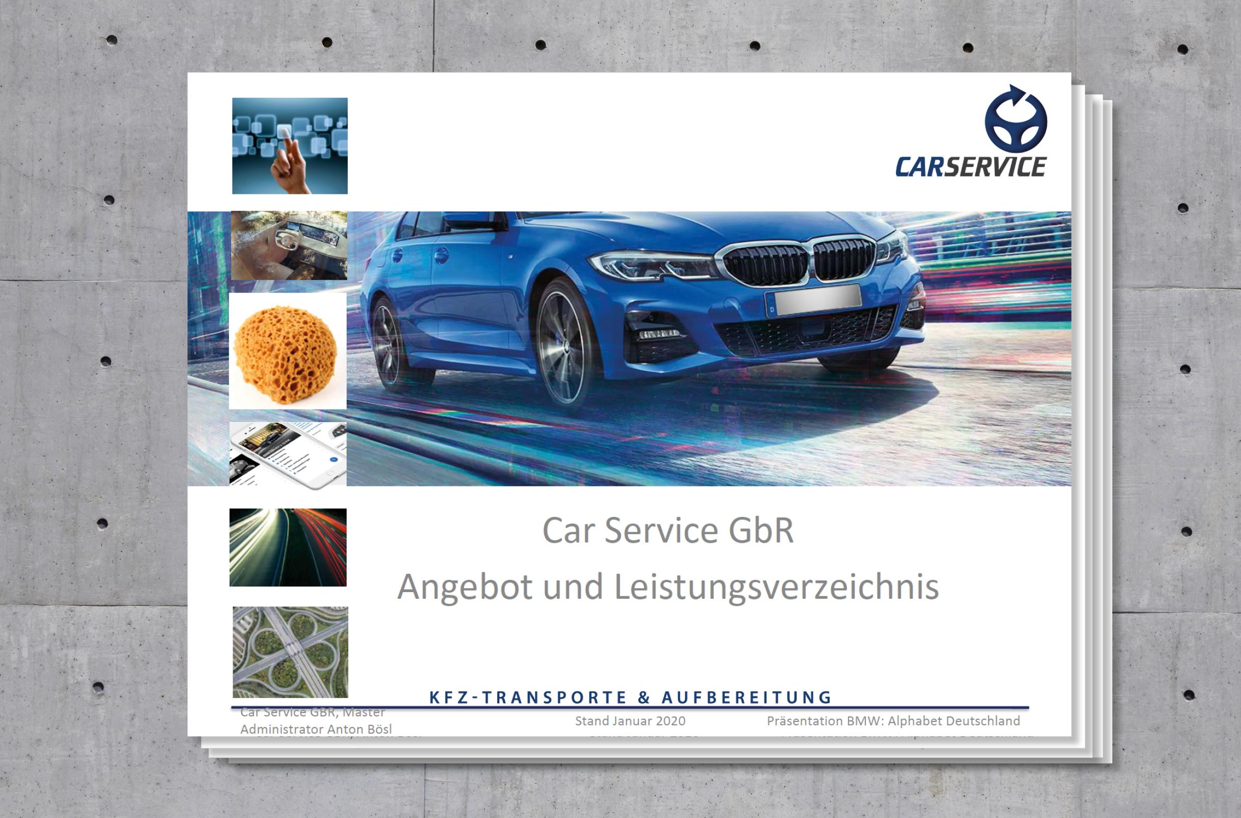 Relaunch der BMW Präsentation