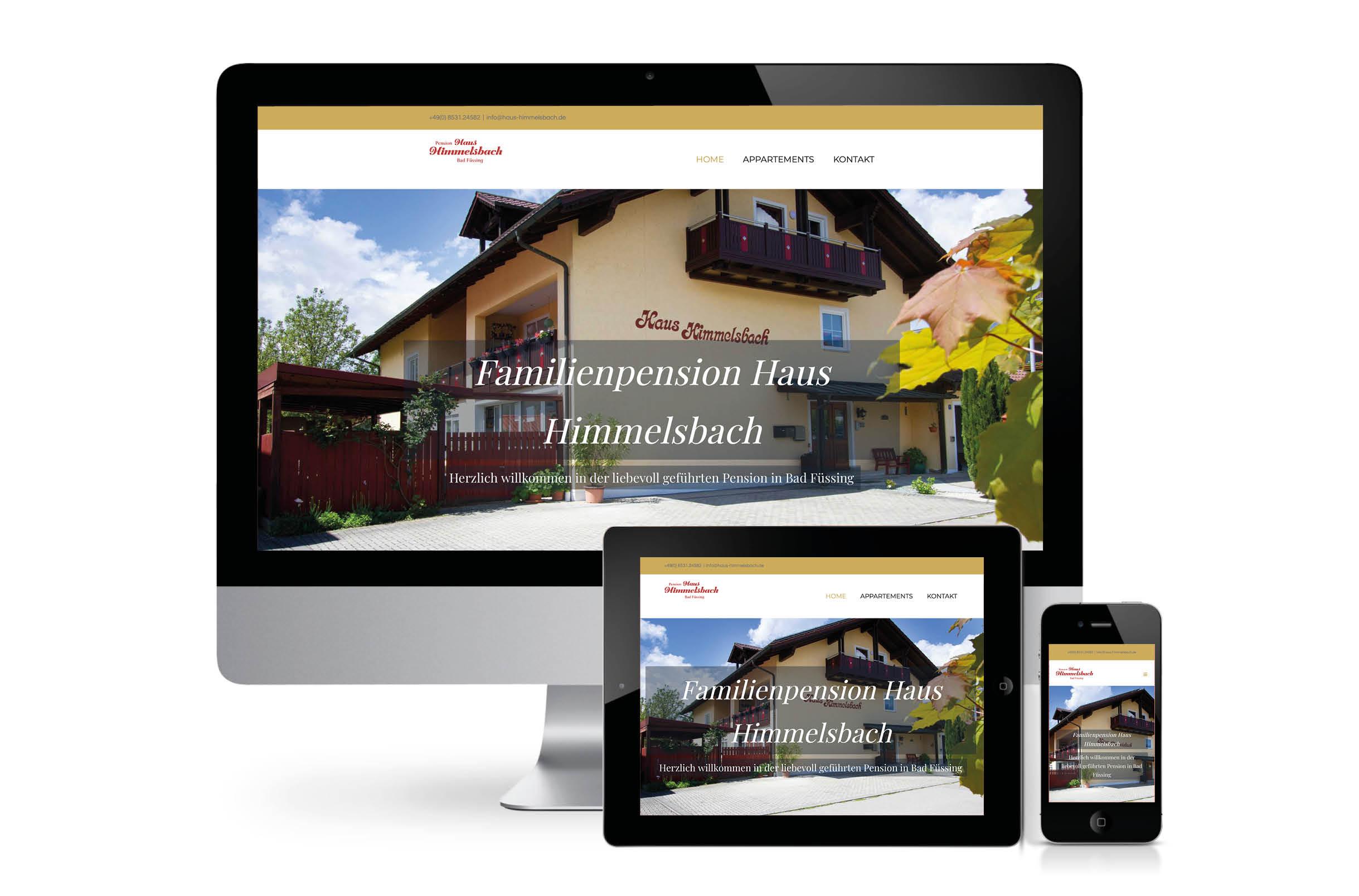 Erholung ab der ersten Minute  – Pension Haus Himmelsbach